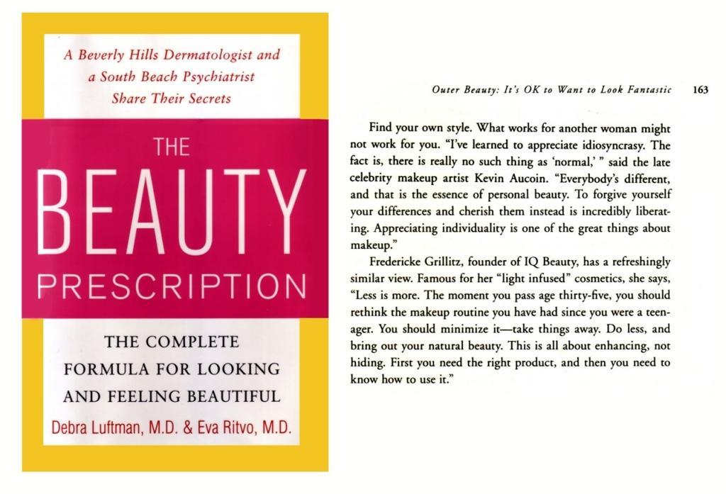 beauty prescription :book
